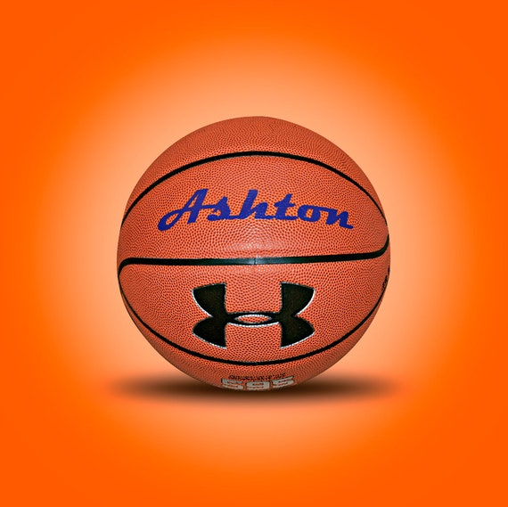Customized Personalized Basketball Under Armour 595  Indoor/Outdoor Basketball Gift