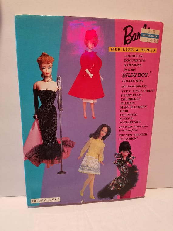Vintage 80s Barbie Her Life And Times Hard Cover Etsy