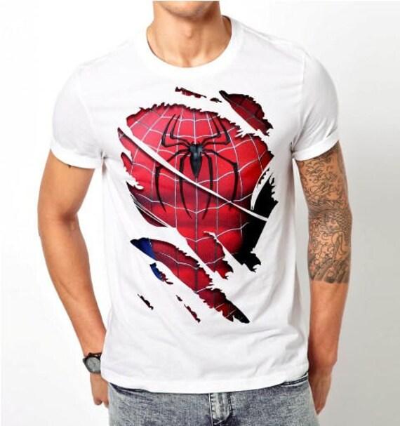 Spider Pour man Hommes2 Muscle Chemise 4RqA35jL