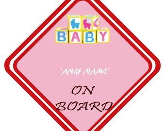 Hearty Handmade Grandads Little Prince Baby On Board Car Sign Special Buy Baby Other Baby Safety & Health