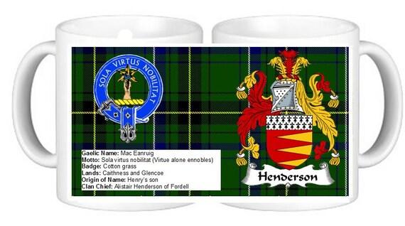 Scottish Design Buchanan Clan Crest Drink Coasters HD Tartan set