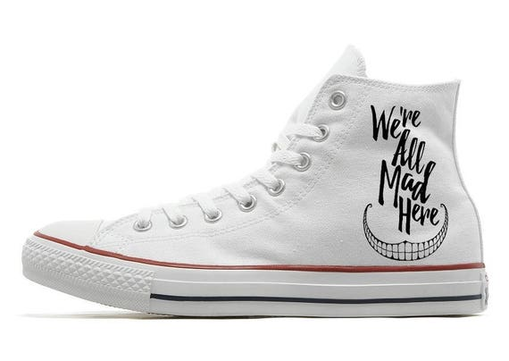 in shoes Converse Alice Cheshire Cat Wonderland xfwawYqC