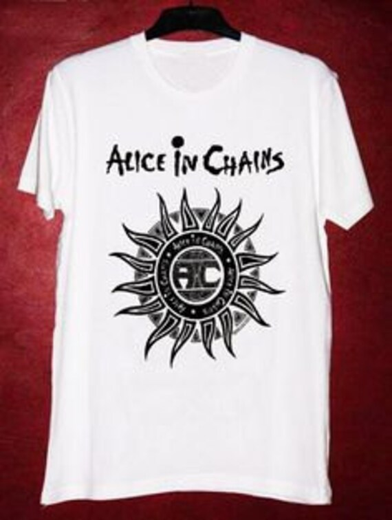 Alice in Chains-handpainted T-shirt ChuA2LkwR