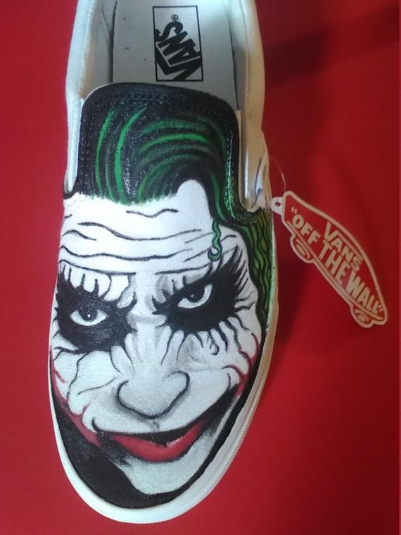 3e94ab09998724 Batman Vs Joker Vans Custom Shoes - ViewLetter.CO