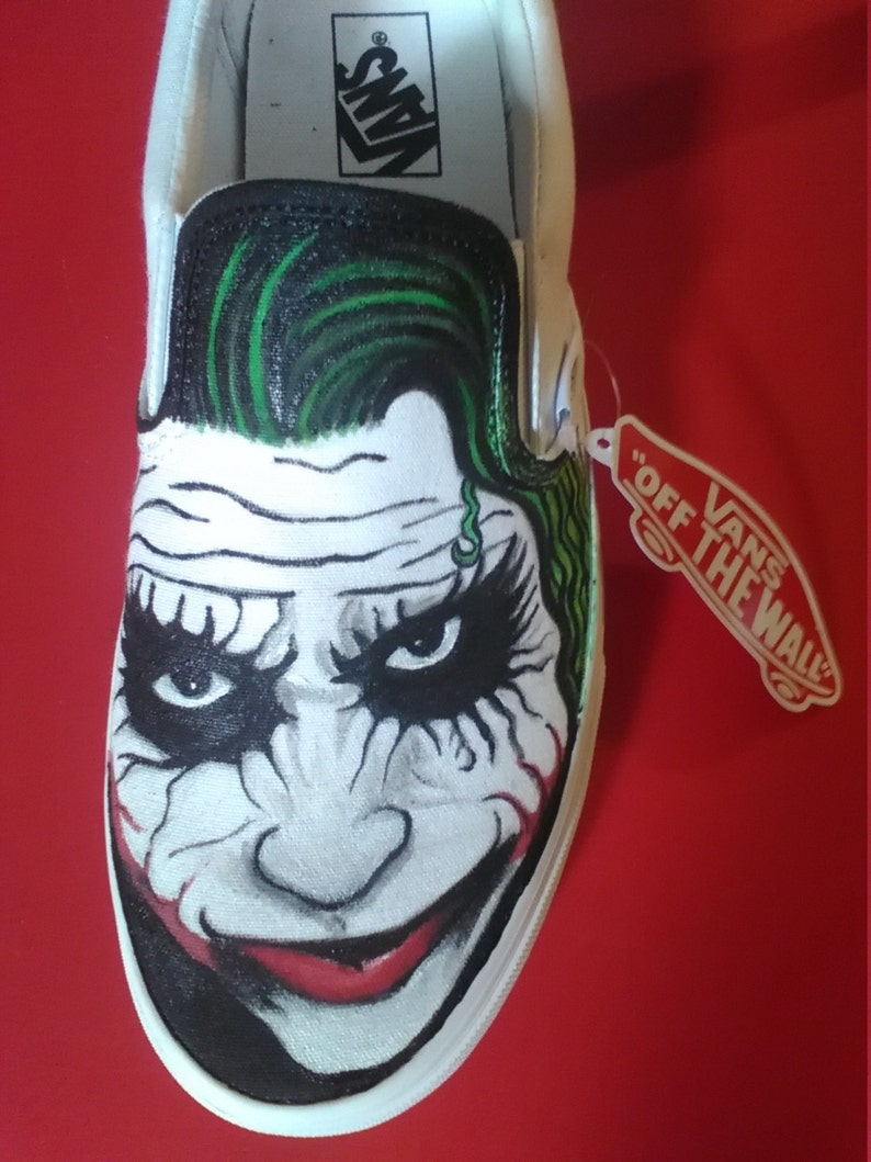 1da07b7ad05a Batman vs. Joker Vans custom shoes