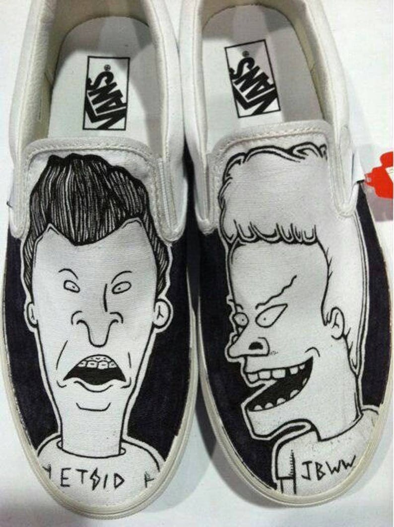Beavis & Butthead Vans Shoes