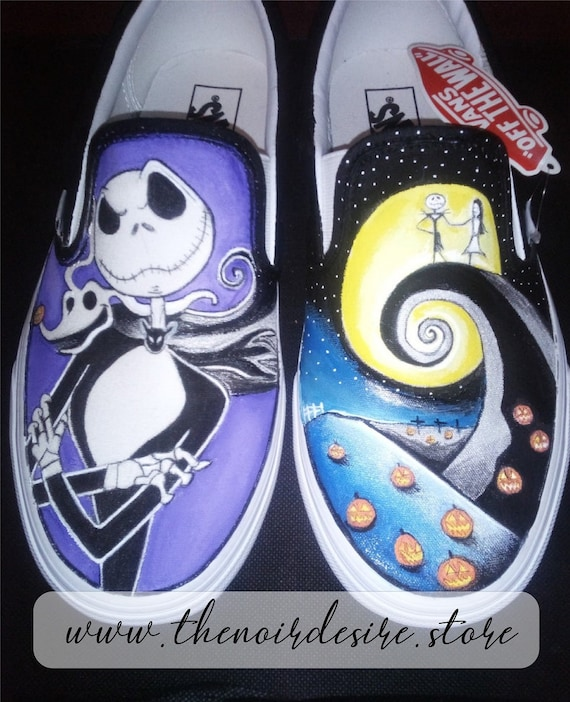 Nightmare Before Christmas: la Vans crea una linea di scarpe
