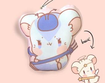 Hamtaro Ham Hams Double Sided Pillow