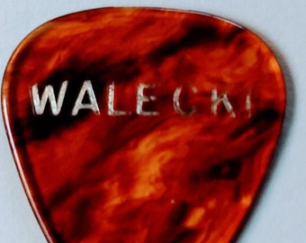 Glenn Frey Tour Walecki Guitar Pick RARE! Authentic Vintage 85! Glenn Frey Eagles Allnighter Solo Tour! Aug 14, 85 CNE Grandstand Toronto ON
