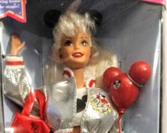"Disney, Barbie, 25th Anniversary Of Walt Disney World ! Authentic Vintage 1996! Barbie, ""Anniversary Barbie Orlando Exclusive""! Never Opened"