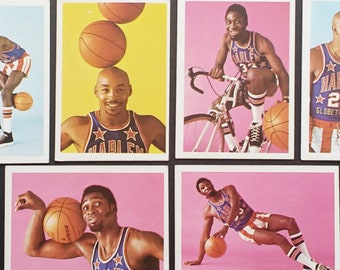Harlem Globetrotters Trading Cards Fleer! Authentic Vintage '71-72! Fleer Harlem Globetrotters Cards Meadowlark Lemon/Curly Neal + 25 More!