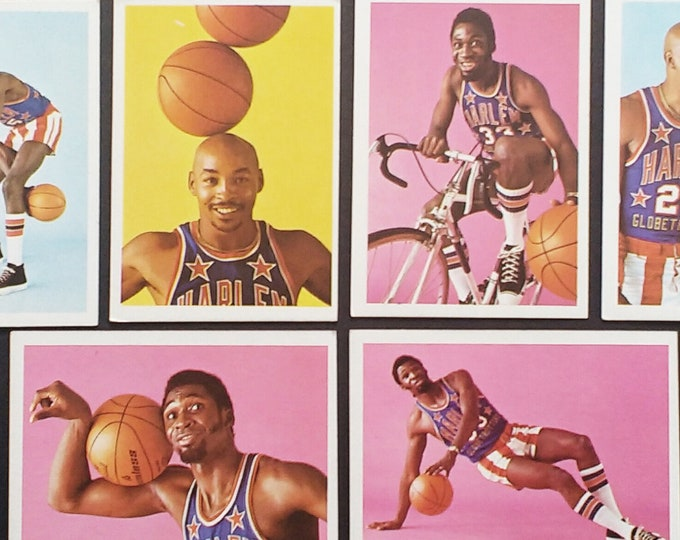 Harlem Globetrotters Trading Cards Fleer! Authentic Vintage '71-72! Fleer Harlem Globetrotters Cards Meadowlark Lemon/Curly Neal + 25 More!