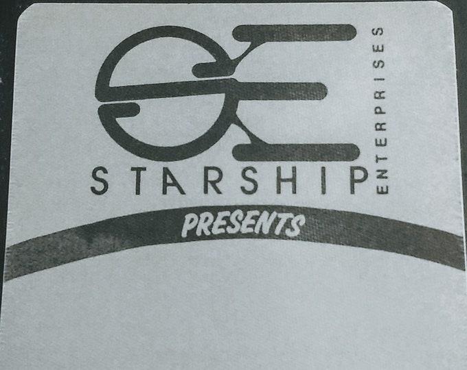 Star Trek, Convention Backstage Pass, Otto Satin Pass! Authentic Vintage 82! Star Trek Con, Starship Enterprises Show Pass,Father's Day Gift