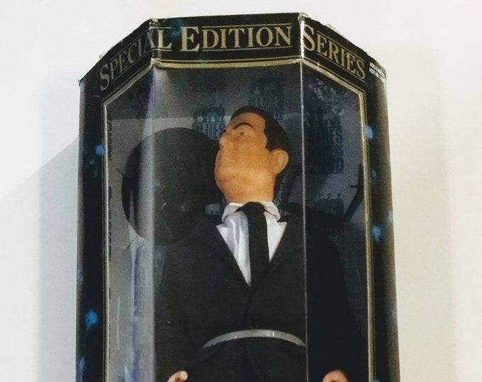"Blues Brothers Action Figure John Goodman Mack!Authentic Vintage 2000!Blues Brothers 2000 12"" Action Figure Like New Unopened Box! Toy Biz!"