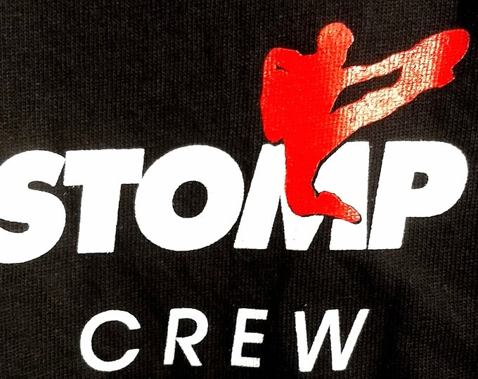 STOMP, T Shirt, Broadway Tour, Tech Crew Shirt! Authentic Vintage 1998! Stomp, Broadway Musical/Dance Tour! 1998-99 Crew T Shirt! Like New!