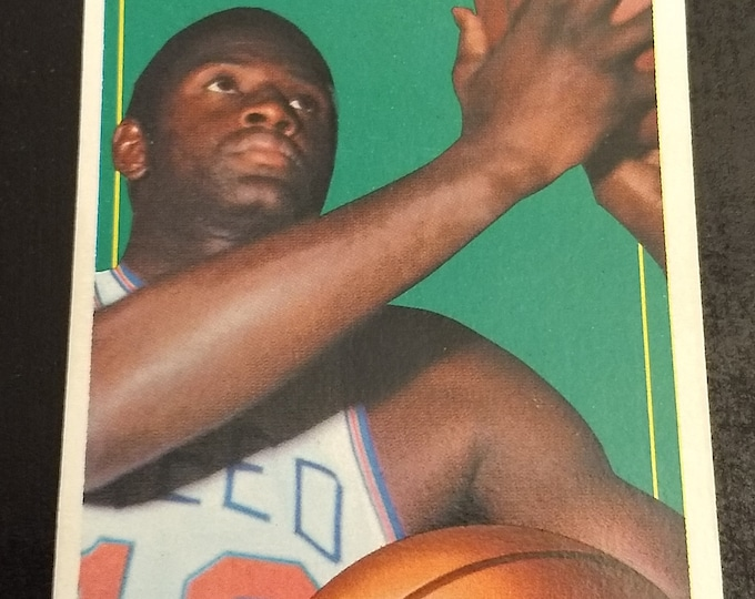 Willis Reed, Topps Basketball Card, New York Knicks Center, Authentic Vintage 1970! Willis Reed, New York Knicks Original Topps Basketball!