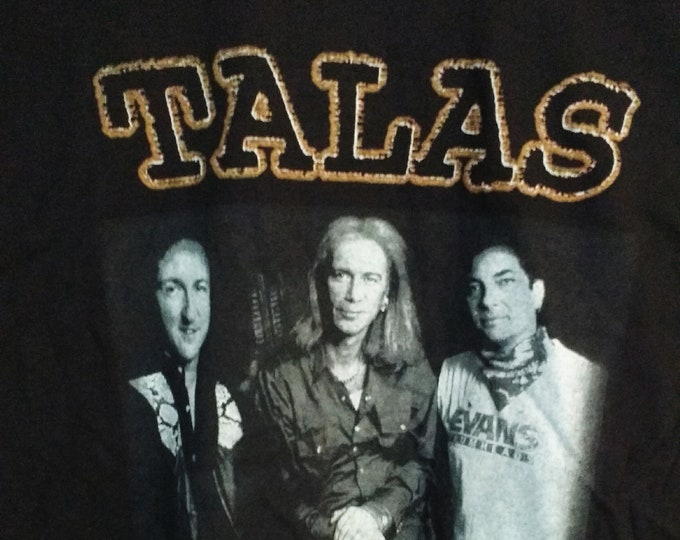 Billy Sheehan Talas T Shirt! Authentic Vintage 98!Billy Sheehan Talas Reunion TShirt!Bass Player/David Lee Roth/Mr Big/Winery Dogs/Steve Vai