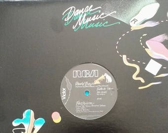 "Bowie 12"" Vinyl Record US Release! Authentic Vintage 1980! Bowie ~ Fashion / Scream Like A Baby RCA Victor PD~12145  Near Mint Vinyl!"