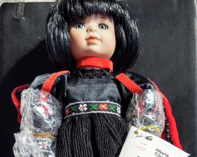 "Marie Osmond Collector Doll! Authentic Vintage 1998! Marie Osmond 9"" Lady Bug Beauty Bug Ball! Complete! In Box! Never Displayed! #1533/7500"