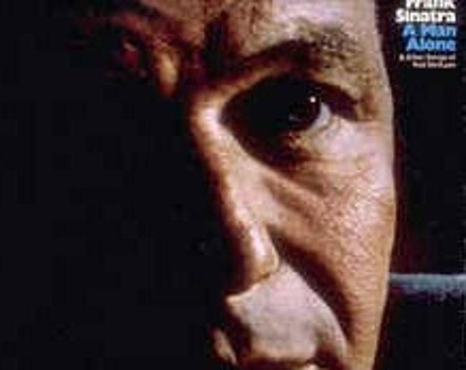 Frank Sinatra UK Import LP! Authentic Vintage 1971! Frank Sinatra ~ A Man Alone & Other Songs Of Rod McKuen Reprise K 44106 Near Mint