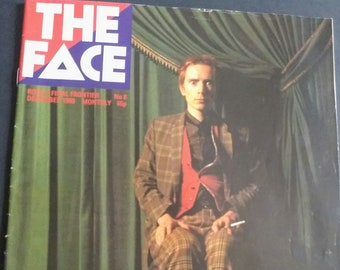 The Face Magazine Johnny Lydon/Manchester Bowie Scene/Paul Weller issue #8!Authentic Vintage 80! The Face John Lydon Sex Pistols PiL! Dec 80