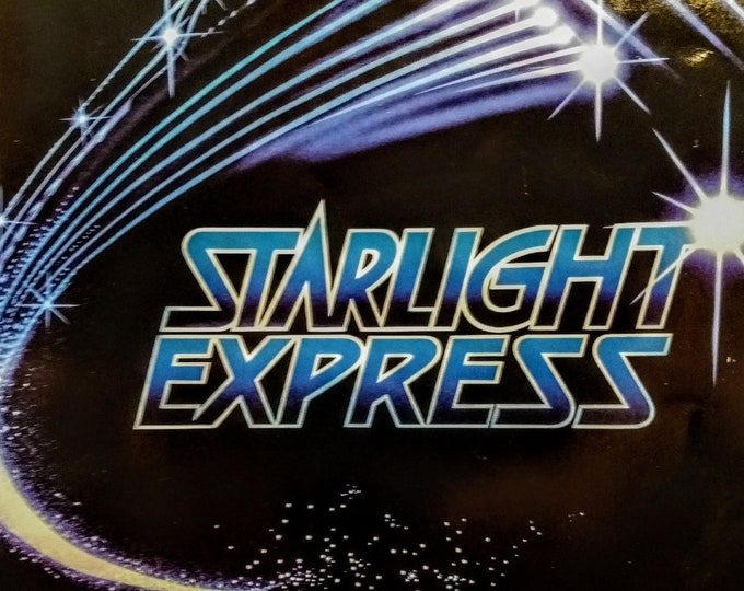 Starlight Express, Programme, Apollo Victoria Theatre, London! Authentic Vintage 84!Andrew Lloyd Weber's Starlight Express!West End, London!