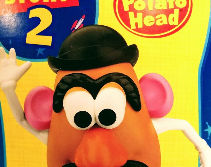 Mr Potato Head Disney Pixar Toy Story 2! New In Unopened Box! Authentic Vintage 1999! Mr Potato Head Complete Set! Hasbro Playskool!New Cond