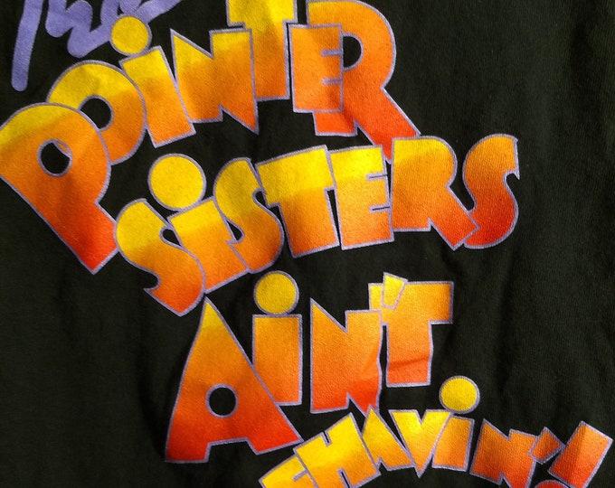 "The Pointer Sisters, T Shirt, RARE Broadway Tour Shirt! Authentic Vintage 1995! The Pointer Sisters ""Ain't Misbehavin"" Broadway Tour Shirt!"