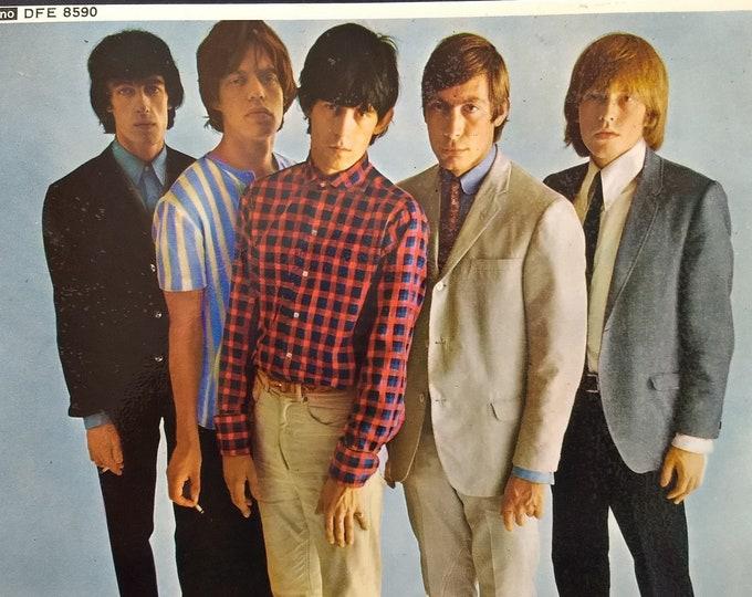 "The Rolling Stones Vinyl 7""EP UK Import! Authentic Vintage 1970! Rolling Stones Five By Five 5 Classic Blues Rockers! Decca DFE 8590! Mint"