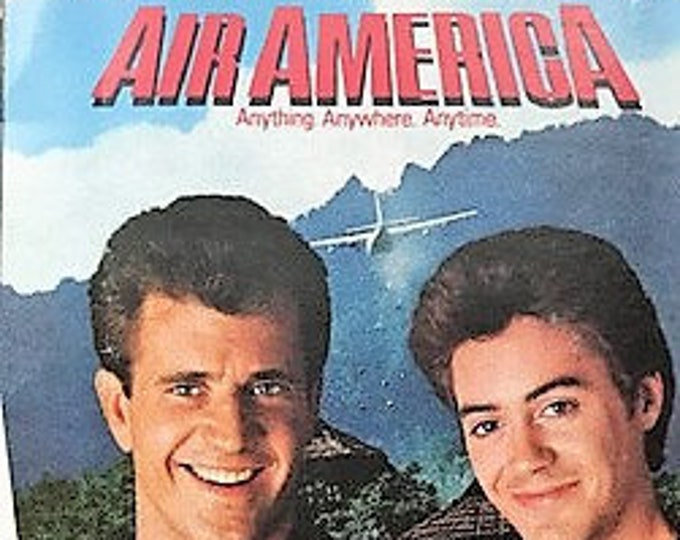 Air America Soundtrack, Steely Dan, Aerosmith, Cassette, Canadian Import! Authentic Vintage 1990! Air America, Mel Gibson, Robert Downey Jr!