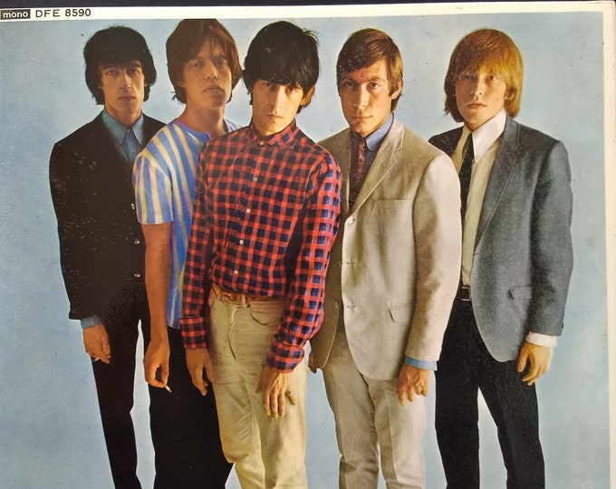 "The Rolling Stones Vinyl 7""EP UK Import! Authentic Vintage 1970! Rolling Stones Five By Five 5 Classic Blues Rockers! Decca DFE 8590! Mint"