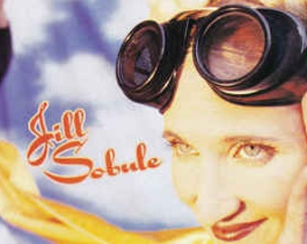 """Jill Sobule, CD Album! Authentic Vintage 1995! Jill Sobule """"Supermodel"""", """"I Kissed A Girl"""", Five Page Fold Out Insert With Lyrics! NM!"""