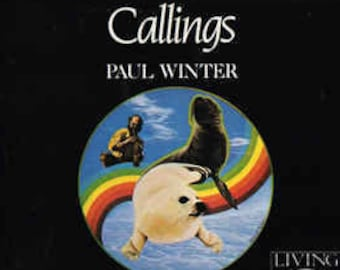 "Paul Winter, CD Vintage, ""Live"" Recording! Authentic Vintage 1987! Paul Winter, ""Callings"",Recorded At The Cathedral St John The Divine. NYC"