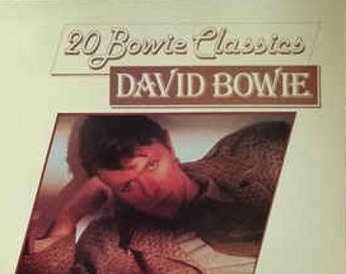 """David Bowie, Vinyl Album,Australian Import! Authentic Vintage 1979! David Bowie, """"20 Bowie Classics"""" ! Early Classic Songs From 1966-1970!"""