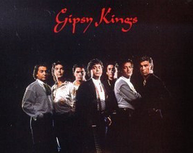 "Gipsy Kings, CD,US Release! Authentic Vintage 1988! ""The Gipsy Kings"" Self Titled Album, Flamenco, Salsa And Pop From The French Band! NM"