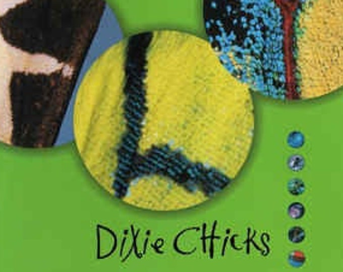 """Dixie Chicks, CD Hi-Def Edition, Green Cover!Authentic Vintage '99! Dixie Chicks,""""Fly"""",RARE Green Cover Variant! 20Page Booklet Lyrics, Pics"""