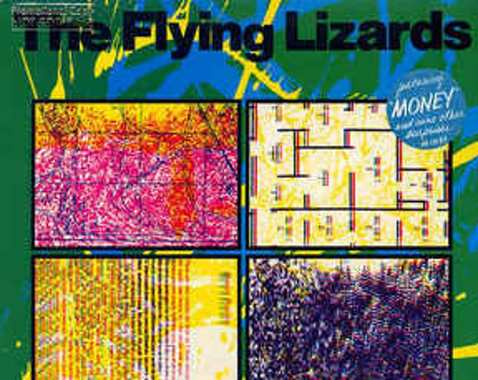 The Flying Lizards, Vinyl Record Album, US Release, Specialty Records Pressing! Authentic Vintage 1979! The Flying Lizards, Debut Album! NM!