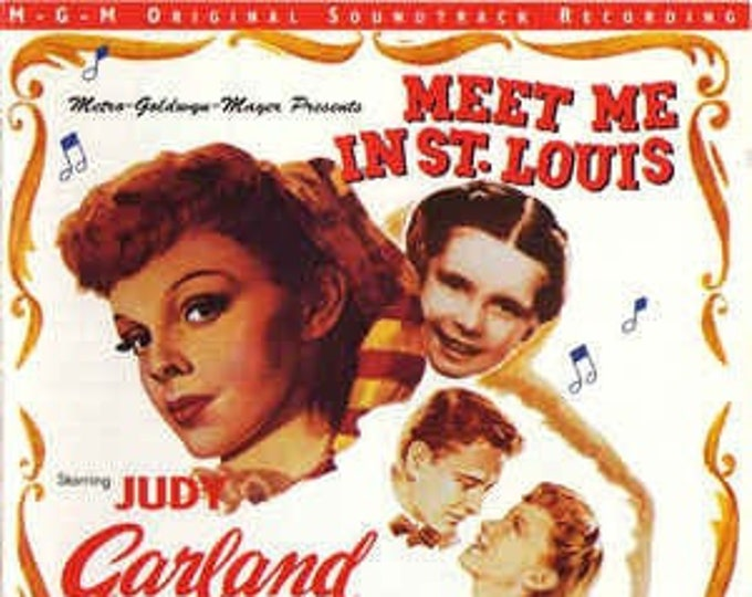 "Judy Garland, CD Remastered Soundtrack, NEW in Shrinkwrap! Authentic Vintage 95! Judy Garland, Margaret O'Brien, ""Meet Me In St Louis""! MINT"