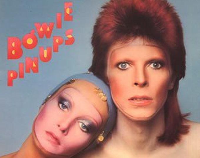 David Bowie Vinyl LP! Authentic Vintage 1973! Bowie ~ Pin Ups  RCA APL1~0291 Yardbirds! Pink Floyd! Kinks! Stock Photo!Sleeve/LP Near Mint!