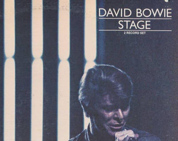 David Bowie Vinyl LP 2X Includes Fan Club Insert! Authentic Vintage 78! David Bowie ~ Stage (Live!) Gatefold Sleeve! Near Mint Vinyl!