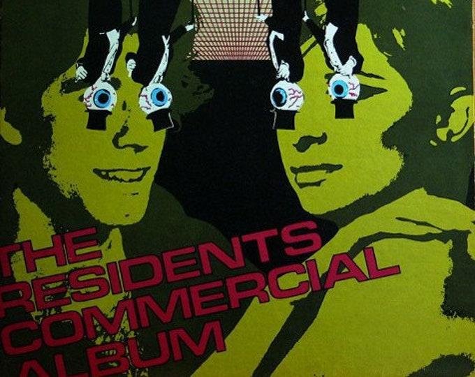 The Residents 1st Press US LP! Authentic Vintage 1980! The Residents ~ Commercial Album Ralph Records RZ 8052-L Near Mint