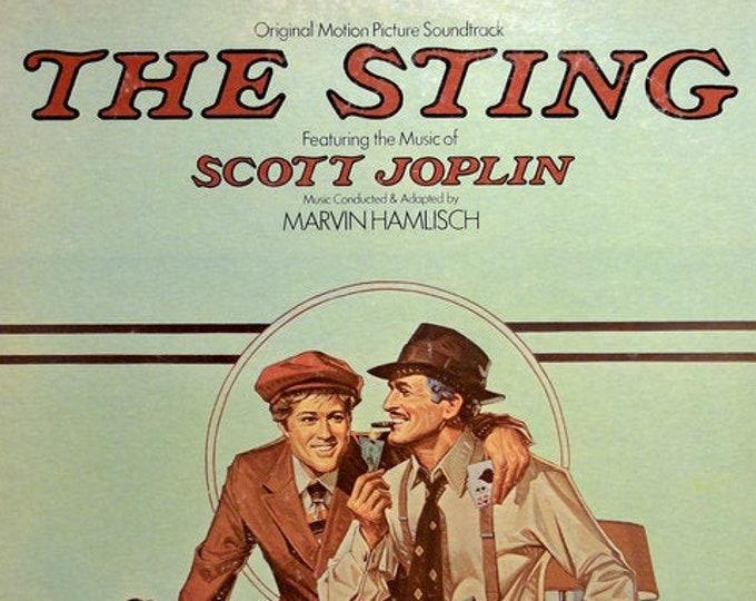 The Sting Sountrack Vinyl LP! Authentic Vintage 1973! Marvin Hamlisch The Sting Soundtack MCA Records MCA 390! Robert Redford/Paul Newman!