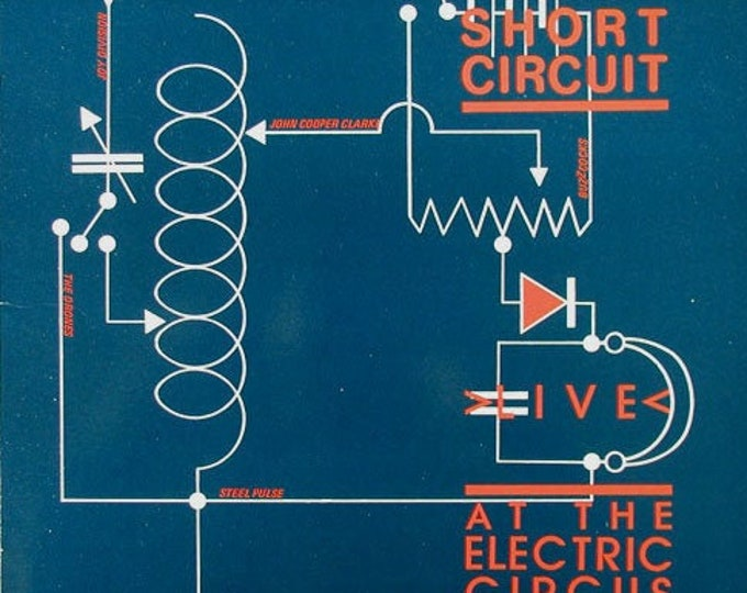 "Live At The Electric Circus, 10"" Vinyl LP, UK Import, Joy Division, Buzzcocks! Authentic Vintage 1978! Short Circuit-Live Electric Circus!NM"