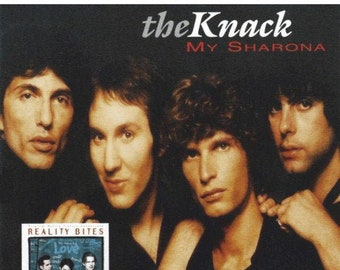 """The Knack, CD, Promo, RARE! Authentic Vintage 1994! The Knack, """"My Sharona / 2 Versions"""" CD! From The """"Reality Bites"""" Soundtrack! Unplayed!"""