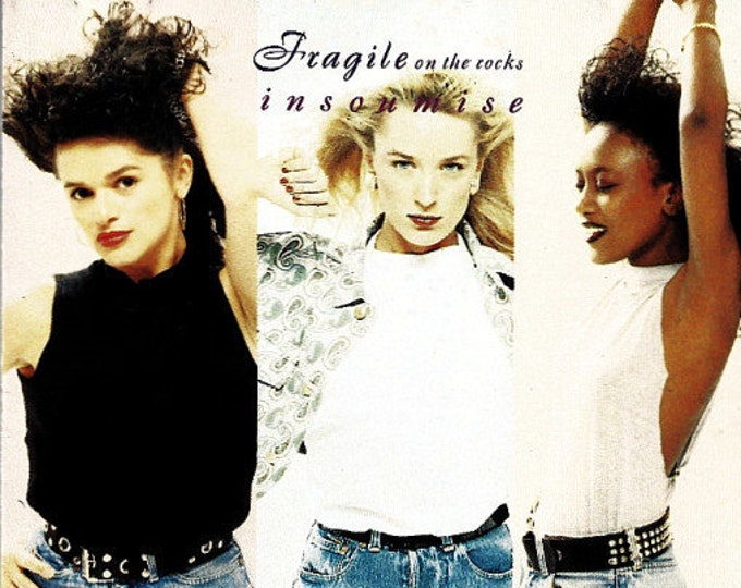 "Fragile On The Rocks, CD, Belgian Import! Authentic Vintage 1990! Fragile On The Rocks ""Insoumise"", 3 Women Vocalists Upbeat Funk And Soul"