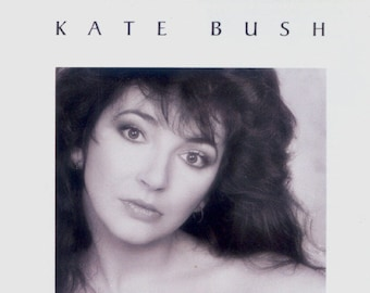 Kate Bush CD Canadian Import! Authentic Vintage 1986! Kate Bush The Whole Story Best Of Compilation! E2 46414 Near Mint Condition Package!