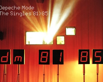 Depeche Mode CD Remastered Compilation Canada Import! Authentic Vintage 1999! Depeche Mode The Singles 81>85! CD and Insert NM Condition!
