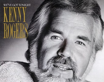 "Kenny Rogers Vinyl Album US Realease! Authentic Vintage 1983! Kenny Rogers ""We've Got Tonight""(Bob Seger Song) !Sheena Easton-Lionel Richie"