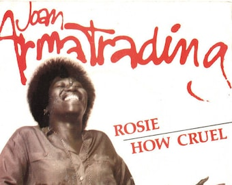 "Joan Armatrading Vinyl Record Import UK 7"" 45RPM! Authentic Vintage 1979! Joan Armatrading ~ Rosie / How Cruel A&M Records AMS 7506 NM Cond!"