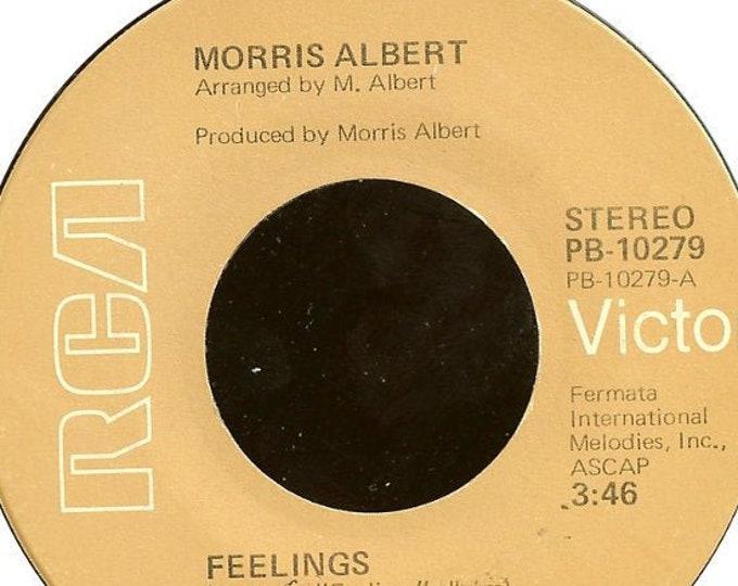 "Morris Albert, 7"" Vinyl Record, Single 45 RPM! Morris Albert ""Feelings"" / ""This World Today Is A Mess""! Chart Topping Single!Near Mint Vinyl"